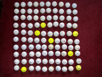 100 Golf Balls including Titleist Nike Callaway Srixon Top Flite Pinnacle Taylormade and many more