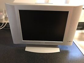 """Phillips 15"""" Flat Screen TV and Matsui Freeview Box"""