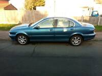 Jaguar x type 2002