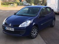 Renault Clio 1.2 Freeway (2008) - 66,500 miles - Petrol - 3 door hatch - FSH + Cambelt - Warranty