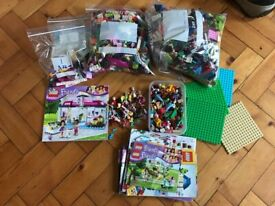 Huge Bundle of Lego Friends Bricks etc etc!