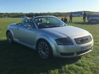 **Convertible** Low Mileage** Audi TT MK1 **225BHP**Leather Heated Seats** Classic PX Part ex