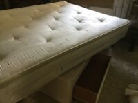 King sized divan bed