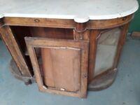 Antique credendza sideboard