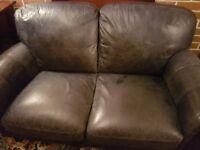 2+2+1 Leather Sofa