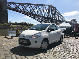 FORD KA 1.2 STUDIO 2012***Only one lady owner since new***One years MOT***Only £30 per year Road Tax