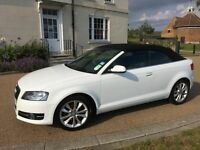 Audi A3 1.2 CONVERTIBLE *FSH, HPI CLR, VGC, WARRANTY, 18K LOW MILEAGE, GENUINE GOOD RUNNER BARGAIN
