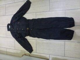 "Snow Suit, Black, one-piece, Chest 39""-45"" , Good condition, Make: Head"