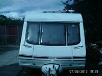 swift challenger 20001 2 berth with end wash room awning lots of extras