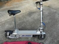 Scooter Jet Stream - Electric off Road Scooter - 350 Watts / 24 vdc Scooter.