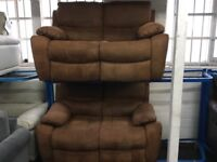NEW/EX DISPLAY LazyBoy OKNEY 2 + 2 SEATER RECLINER SOFAS, SUITE, SETTES 70% Off RRP