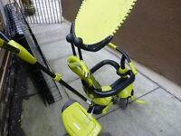 SMART TRIKE TODDLER BIKE WITH PARENT CONTROL HANDLE, GOOD CONDITION BARGAIN £12, CAN DELIVER
