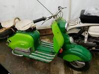 1954 Nsu Lambretta Lc electric start UK registered
