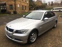 2006 AUTOMATIC BMW 318I PETROL WITH FULL MOT HISTROY 4 DOOR SALOON