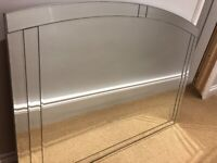 Art Deco Large Venetian Mirror