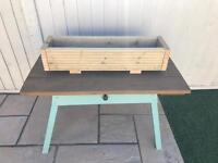 Wooden Planter -NEW