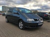 2007│Seat Alhambra 1.9 TDI PD Stylance 5dr│1 Former Keeper│Service History│2 Keys│6 Months MOT