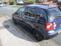 VW Polo 1.2 5 door with 11 months mot 53 plate Volkswagen petrol