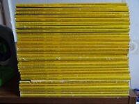 30 National Geographic magazines