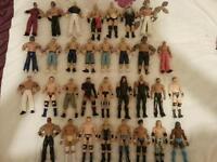 wwe wrestling figures x 32