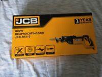 JCB 1100W 240V RECIPROCATING SAW PSR110J2 Sabre Saw - USED ONCE