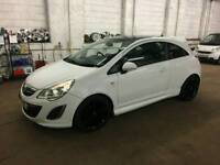 vauxhall corsa Limited Edition 2011 white 43k