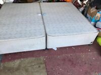 Sofa and double bed