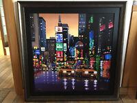 Neil Dawson - Bright Lights, Big City (Art) - Limited Edition Print Painting (No. 109/150)