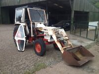 Tractor- David brown 885 with Front Loader and Bucket