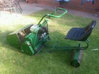 Atco ride on lawnmower