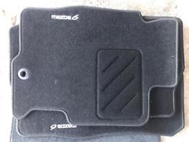 Mazda 6 genuine floor mats
