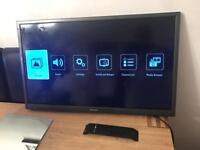 "Hitachi 32""inch HD ready LED Tv No stand"