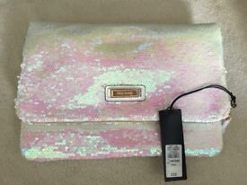 Brand new with tags river island. Clutch bag