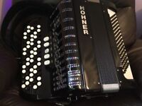 Horner 5 row button accordion