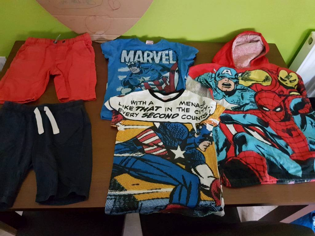 Boys clothes age 6 and 7