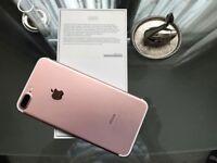 iPhone 7 Plus- Rose Gold- 256gb
