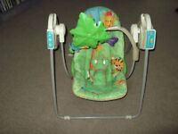 fisher price rain forest musical baby swing chair