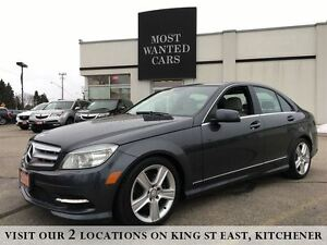 2011 Mercedes-Benz C-Class C300 | 4MATIC | NO ACCIDENTS | ROOF