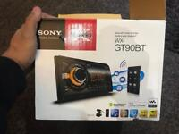Sony WX GT90BT double din stereo - Bluetooth