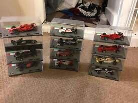 Formula 1 model cars