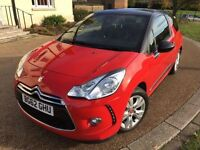 62 Reg CITROEN DS3 DSTYLE 1.6 HDI DIESEL *SH, HPI CLR, 47K MILES, WARRANTY, GENUINE, BARGAIN MANUAL