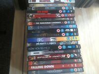 50 dvds mixed lot, action, comedy, sci-fi. All for £10.