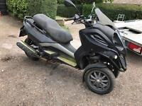 GILERA FUOCO REGISTERED AS DAMAGED 2007 NO KEYS PAPERS