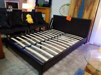 New king size bed frame £75