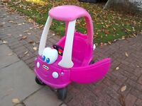Little tykes cosy coupe car-pink