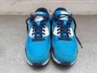 Nike ID Airmax 90s custom blue size 8.5 UK