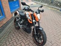 KTM DUKE 125cc SPARES OR REPAIRS PROJECT