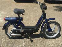 Vespa Px Ciao Piaggio 50cc 2 £ for 130 KM Vintage Icon Italian Moped Bicycle UK plated MOT as Bravo