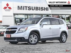 2012 Chevrolet Orlando 1LT - Low KM, 3rd Row Seating