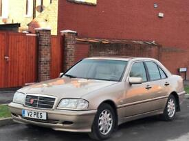 LHD Mercedes Benz C220 CDi Automatic UK Reg Left hand drive 1 owner Drives perfect
